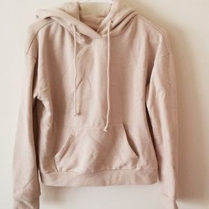 F21 Taupe Classic Pullover Hoodie